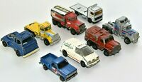 Vintage Lot 8 Matchbox Hot Wheels Diecast Toy Cars Trucks Collection 1973-1985