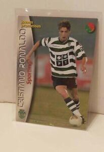 Cristiano Ronaldo Rookie Mega Craques 2003 Panini #137