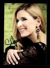 Stefanie Hertel Autogrammkarte Original Signiert ## BC 103937