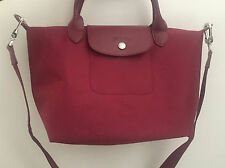 Authentic Longchamp Le Pliage Neo Maroon Small