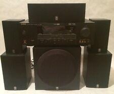 Yamaha Amplifier - HTR-6030 & NS-AP2800BLF Surround Sound Speakers