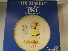 Hummel 1974 Annual Plate