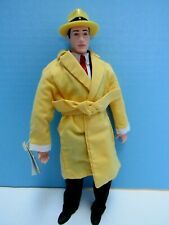 "Vintage Dick Tracy 10"" Soft & Vinyl Figure From 1990 Film - Nos With Tags"