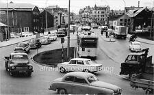 Photo ca 1963 Norway Autos Bakke Bru Trondheim