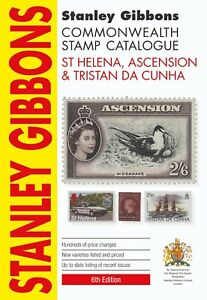 St Helena Ascension & Tristan Da Cunha Stamp Catalogue by Gibbons - 136 pages