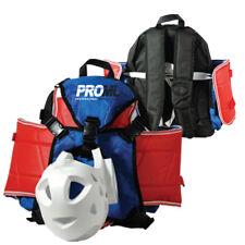 NEW Taekwondo Karate Sparring Gear Backpack Martial Arts Equipment Bag-BLUE