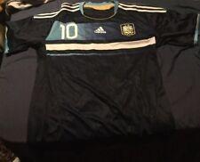 ARGENTINA AWAY FOOTBALL SHIRT MESSI