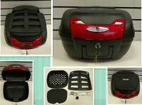 Universal Quick Release TopBox with Luggage Rack 42L -Motorcycle-Bike-Trike-0879