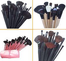 24 Pcs Professional Make Up Brush Set Foundation Brushes Kabuki UK Seller
