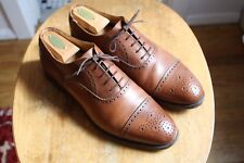 Brooks Brothers x Alfred Sargent Brown Captoe Brogues 10D