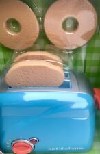 KITCHEN JUST LIKE HOME PLAY BREAD TOASTER Preschool Pretend Role Game Collectibl