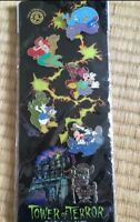 Tokyo Disney Resort Tower of Terror Pin Rally Collection Complete SHIRIKI 2006