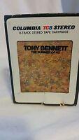 Tony Bennett Summer Of 42 8Track Stereo Cartridge 1970s Smooth