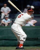 1955 St. Louis Cardinals HOF er  Stan Musial at the Plate Color 8 X 10 Photo Pic