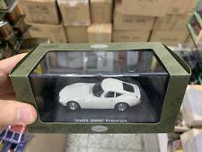 Ebbro 1/43 Scale Die-Cast Model Car - Toyota 2000GT Prototype White 43836