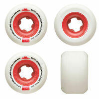 Ricta Skateboard Wheels 54mm Cored Clouds 86A Red Soft Cruiser