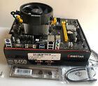 BIOSTAR B450MH Motherboard AM4 AMD Ryzen 5 1500X 3.5GHz-3.7GHz 4C/8T CPU, Cooler