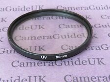 UV 62mm Ultra Violet Filter For Panasonic,Sigma,Samsung,FujiFilm,Nikon,Sony Lens