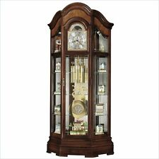 Howard Miller Majestic II Curio Grandfather Clock Traditional