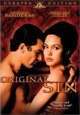 Brand New DVD Original Sin (Unrated Version) Angelina Jolie Antonio Banderas