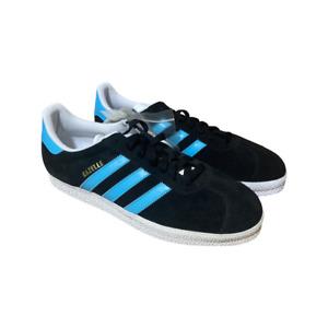 Adidas Originals Gazelle 2 Mens Shoes  Black blue White Sneakers size 10