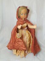 "Lenci Doll Antique Vintage Lenci Doll Italy Girl  Sicilia  18"" Tall"