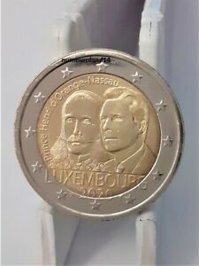 DISPO 2 euro LUXEMBOURG 2020 Commémo Prince Henri. NEUVE