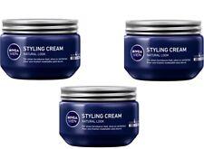 3 X 150 ml NIVEA Men Styling Cream Hair Gel - Original from Germany