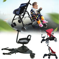 Universal Baby Sit Ride On Tandem Seat Board Attachment for Pram/Stroller New