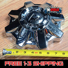 FUEL OFFROAD Chrome Wheel RIM Center 8 lug Cap PART# 1002-53  M-447  M-721 NEW