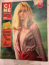 Ciné Revue N°6 du 9 février 1967/ Anna Gael - G. Hamilton / Sandra Dee