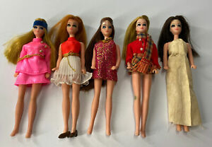 Topper Dawn Doll, Lot Of (5) *4/5 Super Nice*
