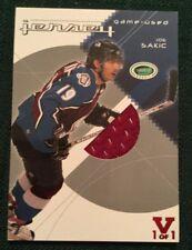 2004 ITG Vault Jersey 1/1 Joe Sakic Colorado Avalanche 1/1