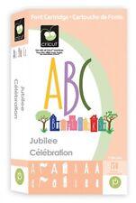 Cricut Cartridge - Jubilee Font Alphabet, Numbers, Punctuation, Phrases, Houses