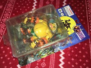 2001 Epoch Legend of Zelda Majora's Mask GORON LINK Figure Nintendo Damaged Box