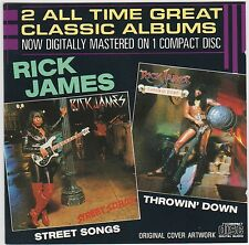 Street Songs / Throwin' Down - Rick James ( Gordy ‎– ZD72474 )