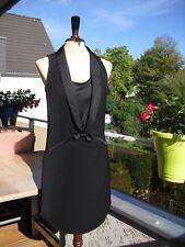 Kleid Weste Westenkleid PROMOD Schleife 34-36 XS-S knielang Longweste Party Ober