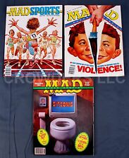 Mad Magazine 3x Super Specials #81 87 89 Sitcoms Sports Violence May 92 Sept 93