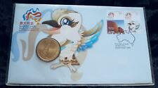2010 SHANGHAI WORLD EXPO PNC ROYAL AUSTRALIAN MINT $1 COIN & STAMPS - PERFECT