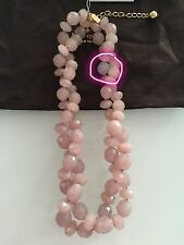 "kate spade new york ""Give It A Swirl"" Lilac Twisted Necklace, 20''+3'' Extender"