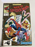 Web of Spiderman #50 Sandman Prowler Vintage Marvel Comics