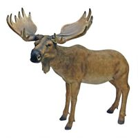"""The Moose Is Loose Design Toscano Exclusive Hand Painted 18"""" Garden Statue"""