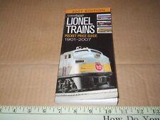 Greenberg's  Lionel Trains Pocket Price Guide 1901-2007 (2006, paperback)