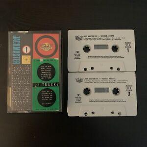 JACKMASTER - VOLUME 1 (RARE 1987 UK DOUBLE CASSETTE TAPE) DJ INTERNATIONAL