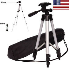 Professional Portable Aluminium Camera Tripod Stand For iPhone Dslr Camcorder