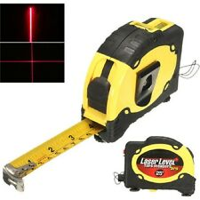 LV-07 Pro 25 7.5M Laser Level Tape Measure Horizontal Vertical Line Ruler Tester