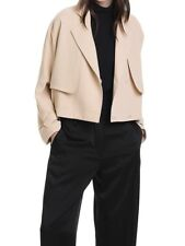 Country Road cropped soft trench coat jacket size12 RRP$299