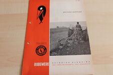 144491) Rabewerk Dreipunkt Beetpflüge Prospekt 09/1965