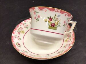 """Wedgwood Williamsburg """" BIANCA"""" Tea cup Teacup Saucer Set Excellent! More Avail!"""