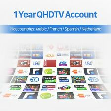 IPTV 1 JAHR ACCOUNT -QHDTV- FÜR FIRE TV STICK / ANDROID BOX ! SEHR STABIL !!